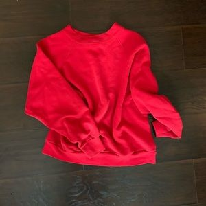 Hanes Sweaters - Vintage Hanes Shrunken Crop Sweatshirt